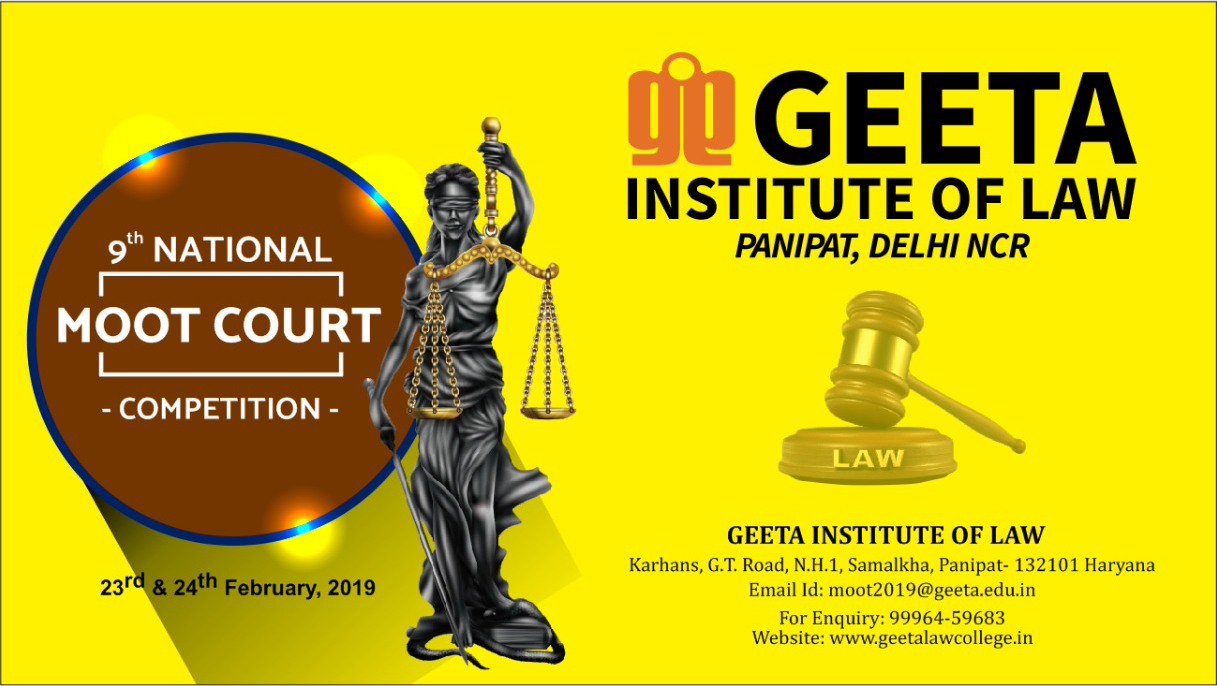 9th National Moot Court Competition